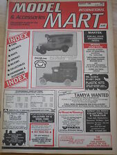 MODEL & ACCESSORIES MART MAR 1988 CAR BOAT RAILWAY AIRCRAFT MILITARY  MODELLING
