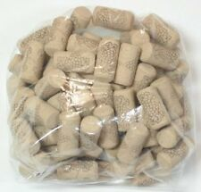 75 New Wine Corks #8 agglomerated long corks