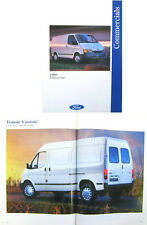 Ford Fiesta Courier Escort P100 Transit Van 1993 Edition 1 Original UK Brochure