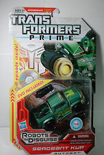 NEW Transformers Prime Robots In Disguise SERGEANT KUP Autobot w/ DVD