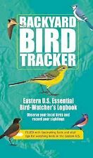 Backyard Bird Tracker Bird Watchers Logbook Facts Tips Color Pictures 2007 New