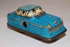 1960's Technofix? Windup Car, Blue