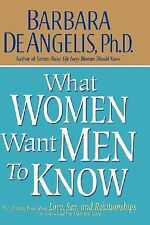 What Women Want Men to Know : The Ultimate Book about Love, Sex, and...