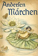 Andersen Märchen, Hans Christian Andersen (1938, Munchen) In German. VG