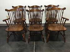 TEMPLE STUART Rockingham Windsor Back Dining Chairs - Set of 6