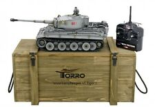 RC Panzer 1:16 Torro Tiger I Profi Metallausführung 360° BB Schuß 2,4 GHz