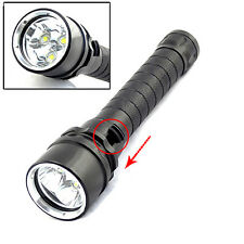 Ultra Bright 8000Lumen 3x XM-L2 LED Diving 18650 Flashlight Torch Lamp Max 100M