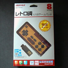 New Buffalo NES Famicom FC Turbo Rapid Fire USB Gamepad Controller for PC Mac