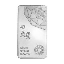 10 oz Silver Elemetal Bar