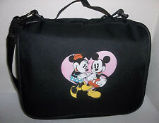 DISNEY PIN BAG MICKEY AND MINNIE HEART CASE ALBUM BOOK FOR DISNEY TRADING PINS