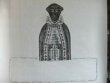 Brass rubbing WELLS CATHEDRAL SOMERSET c1460 Anonymous priest  .. 15/1