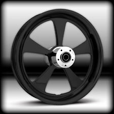21 x 3.25 HARLEY DAVIDSON ROAD GLIDE GLOSS BLACK ROCK STAR WHEEL