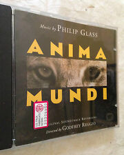 CD ANIMA MUNDI MUSIC BY PHILIP GLASS SOUNDTRACK COLONNA SONORA