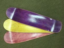 "Skateboard Deck,pool & park , 3pcs Blanks , 32.5"" x 8.75"",USA made,  $13.33 each"