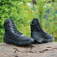 Outdoor Men Tactical Waterproof Military Ankle Boots Desert Boots Climbing Shoes