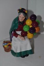 Vintage Royal Doulton Lady Figurine, The Old Balloon Seller HN 1315 ENGLAND 7""
