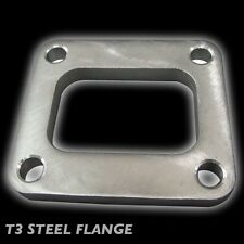 STAINLESS STEEL 4 BOLT WELDABLE ADAPTER FLANGE FOR T3 TURBO