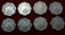 India 1957 1958 1959 1960 1961 1962 1963 & 1964 2 Naye  Paise Calcutta  Mint Set
