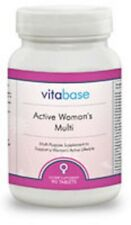 Vitabase Active Woman's Multi Vitamins - Lifestyle Support Stress Nerves 90 Tabs