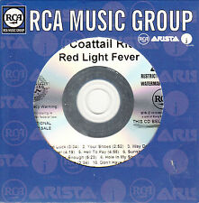 TAYLOR HAWKINS & THE COATTAIL RIDERS Red Light Fever promo test CD Foo Fighters