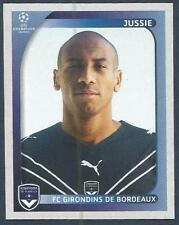 PANINI UEFA CHAMPIONS LEAGUE 2008-09- #175-BORDEAUX-JUSSIE