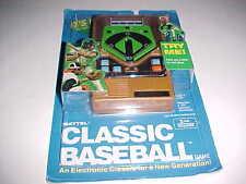 Mattel Classic Baseball Handheld Electronic Game 43386 Brown New