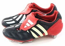 Adidas Mens Predator Mania XTRX SG Soccer Cleat Black Red Size 6.5 US