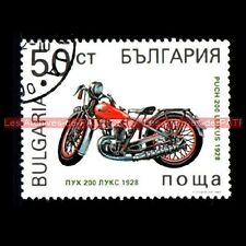 PUCH 200 Luxus 1928 - BULGARIA BULGARIE Moto Timbre Poste