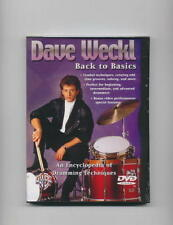 DAVE WECKL - BACK TO BASICS - DRUM LESSON NEW DVD