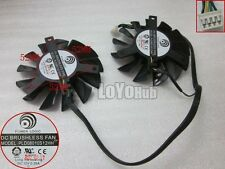 MSI GTX 560 570 R6970 graphics card fan POWER LOGIC PLD08010S12HH 12V 4-Pin 75mm