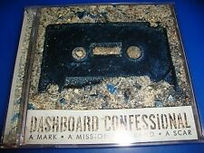DASHBOARD CONFESSIONAL cd/dvd A MARK A MISSION A BRAND A SCAR  free US shipping