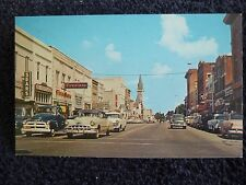 1950's Downtown Business Section, Patterson St. in Valdosta, Ga Georgia PC