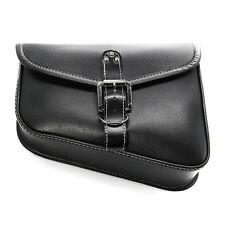 PU Leather Saddle Bag Left side Saddlebag For Harley XL 883 XL 1200 Sportster