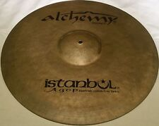 "Istanbul Agop Alchemy Hand Made(Medium)Ride Cymbals 20""Free Shipping Worldwide"