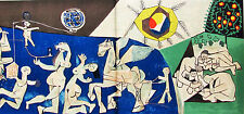 PICASSO - PEACE AND PROSPERITY - ORIGINAL LITHOGRAPH - 1954 -  FREE SHIP IN US