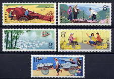 CHINA PRC Sc#1487-91 1979 T39 Work of the Commune MNH