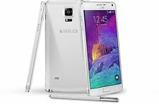 Samsung Galaxy Note 4 SM-N910A AT&T Unlocked GSM 32GB Android phone White OB