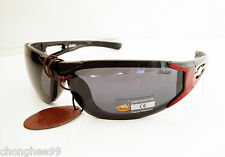 Indian Motorcycle Sunglasses Mens Unisex Solid Smoke Flash Silver Mirror Lens
