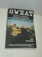 SWEAT THE STORY OF THE FLESHTONES AMERICA'S GARAGE BAND PAPERBACK BOOK BONOMO