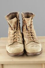 Vtg Men's 70s 80s Distressed Red Wing Work Boots sz 8C 1970s 1980s #2318s