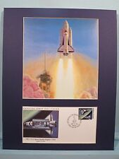 Columbia, the first US Space Shuttle launched into Space & First Day Cover