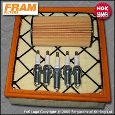 SERVICE KIT VOLVO V50 2.5 T5 FRAM OIL AIR FILTERS PLUGS (2004-2012)