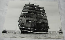 KRUZENSHTERN 4 Masted RUSSIAN BARQUE SHIP PHOTO