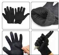 1 Size Pair kevlar Work butcher Gloves resistant Safety Glove Cut Metal