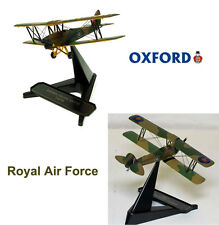 Premium 1/72 Oxford 72TM001 de Havilland Tiger Moth Royal Air Force