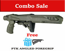 R10/22 PTK Fab Defense Green Tactical STOCK RUGER 10/22 w/ FREE Angled Handle