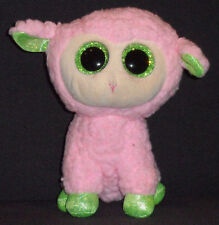 "TY BEANIE BOOS BOO'S - BABS the 6"" LAMB - NO HANG TAG"
