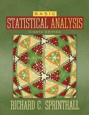 Basic Statistical Analysis by Richard C. Sprinthall (2006, Hardcover, Revised)