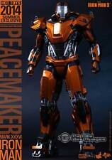 Hot Toys Iron Man 3 Peacemaker Mark XXXVI 1/6 Collectible Figure MMS258 Exclusiv
