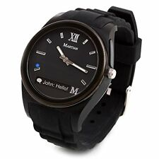 Martian Watch Notifier Smartwatch - for Android, and ios - Black - NOB